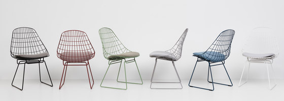 Wire chair SM05 de Pastoe | Chaises de restaurant