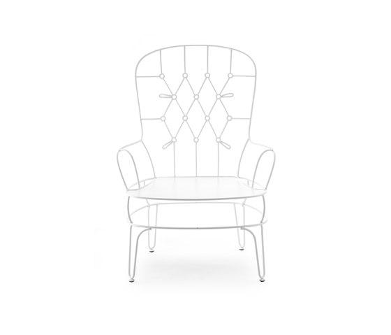 Fildefer outdoor armchair by Skitsch by Hub Design | Garden armchairs