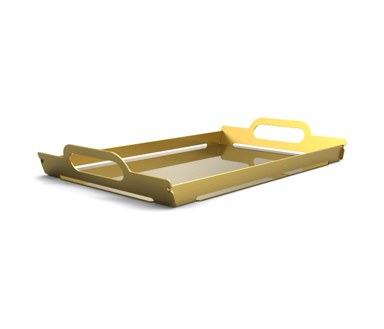 Folding tray von Skitsch by Hub Design | Tabletts
