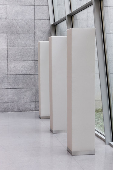 Abso acoustic totems by Texaa® | Sound absorbing room divider