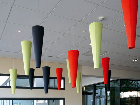Abso cones by Texaa® | Suspended panels