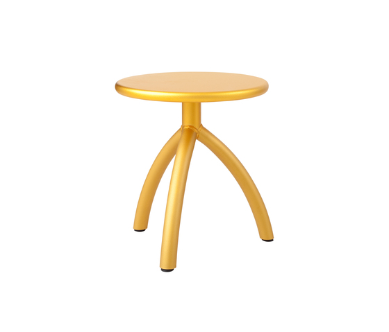 Stool gold von Functionals | Hocker
