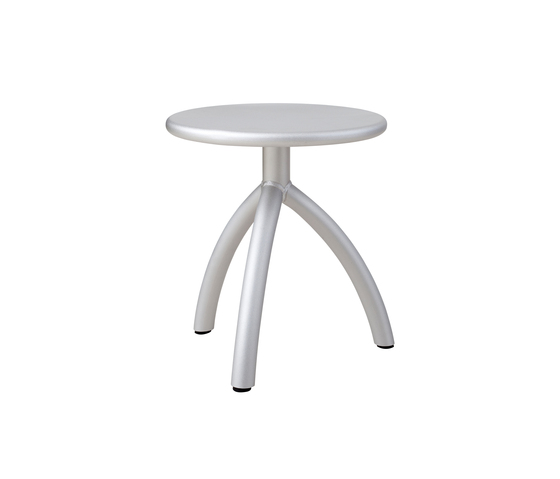 Stool silver by Functionals | Stools