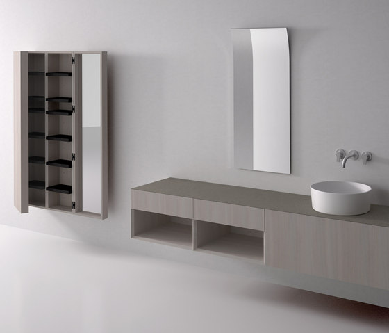 i Fiumi by Boffi | Wall mirrors