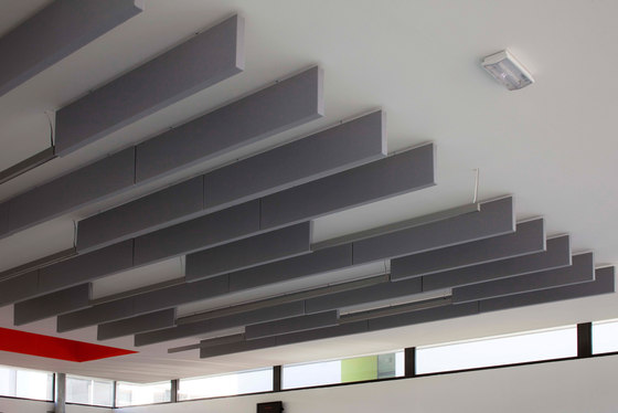 Stereo Schirme von Texaa® | Deckensysteme
