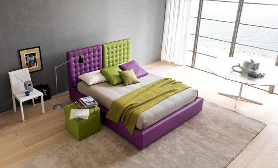 Poissy by Bolzan Letti | Double beds