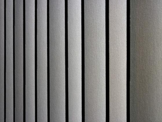 Vibrasto 10 Lamellenvorhänge von Texaa® | Streifenvorhangsysteme