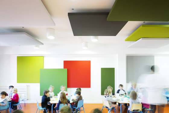 Single-sided Stereo acoustic panels by Texaa® | Acoustic ceiling systems