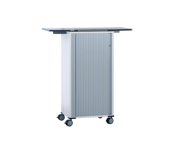 float fx trolley with folding table by Wiesner-Hager | Pedestals