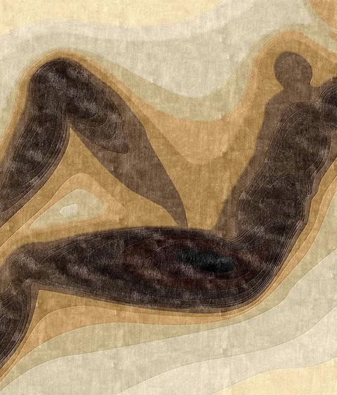 Confluence - Dégradé de bruns by Chevalier édition | Rugs / Designer rugs