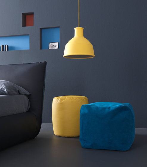 Pouff Cube by Bolzan Letti | Night stands