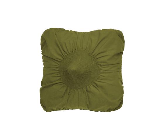 Anemone cushion kiwi by Poemo Design | Cushions