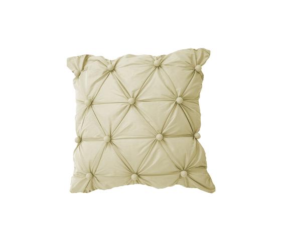 Capitonne' cushion perla by Poemo Design | Cushions