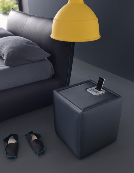 Pouff Ares by Bolzan Letti | Night stands
