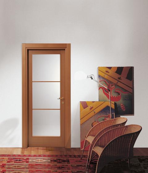 Sintonia Gran Vetro (2) by TRE-P & TRE-Più | Internal doors