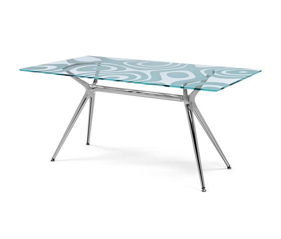 Metropolis 160x90 di Scab Design | Tavoli da pranzo