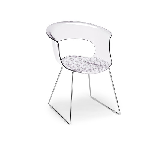 Miss B Antishock by Scab Design | Restaurant chairs