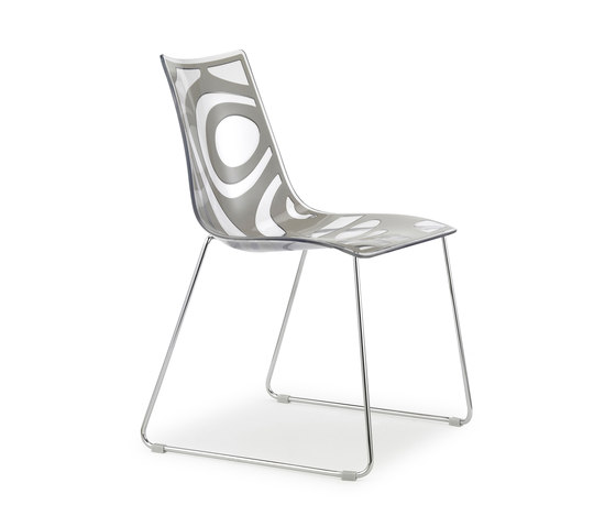 Wave sledge frame by Scab Design | Restaurant chairs