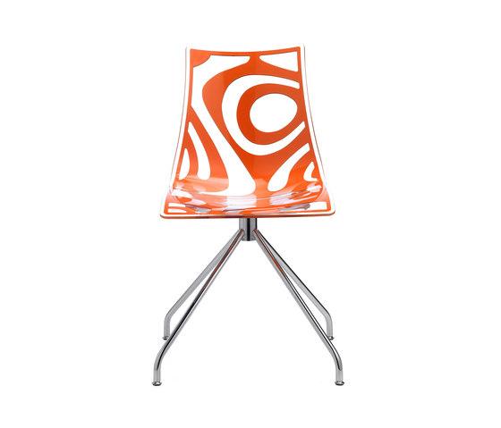 Wave on trestle base von Scab Design | Restaurantstühle