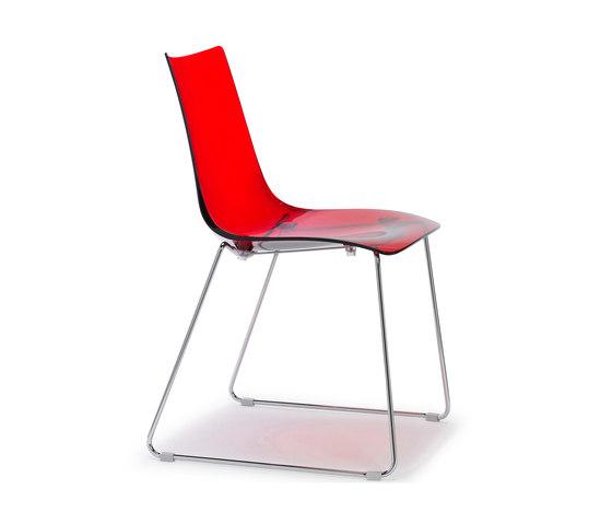Zebra Antishock von Scab Design | Restaurantstühle