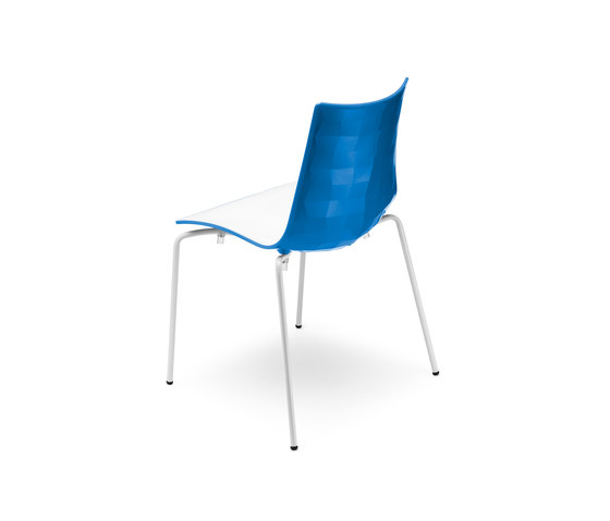 Zebra Bicolore by Scab Design | Chairs