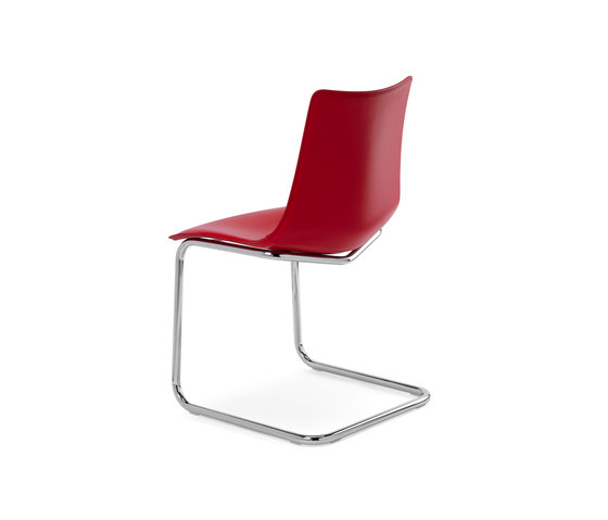 Zebra Pop cantilever by Scab Design | Visitors chairs / Side chairs