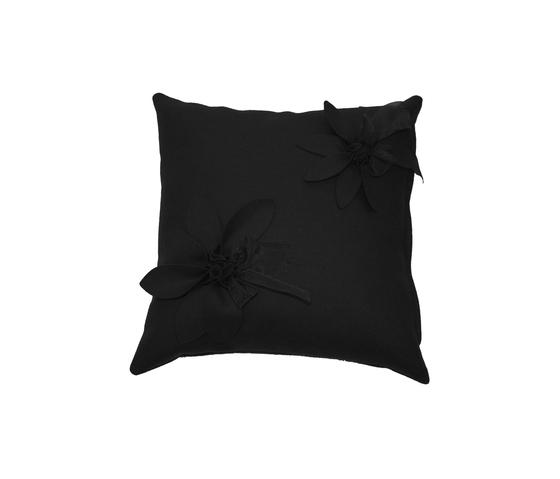 Eva Fiore cushion antracite by Poemo Design | Cushions