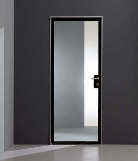 Planus cinque glass by TRE-P & TRE-Più | Internal doors