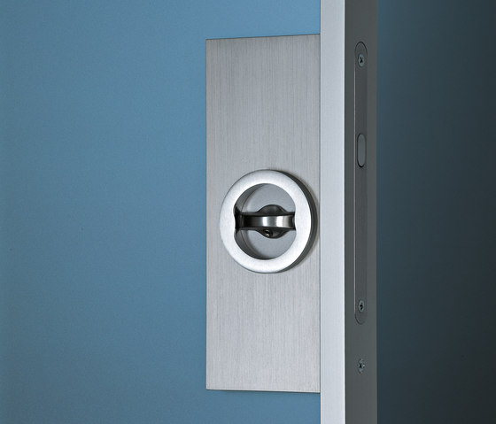 Planus sliding inside the wall by TRE-P & TRE-Più | Internal doors