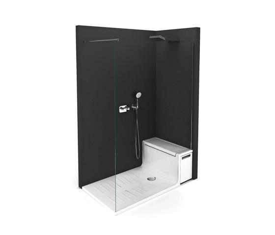 Hide and Seat de ROCA | Cabinas de ducha