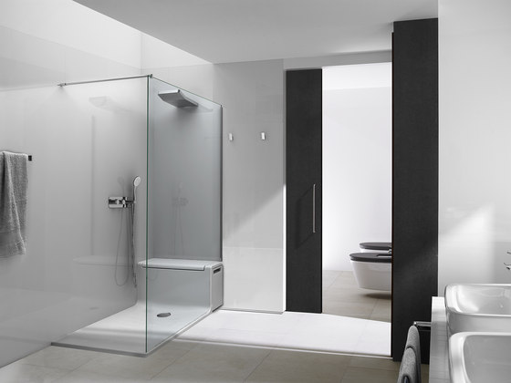 Hide and Seat by ROCA | Shower cabins / stalls
