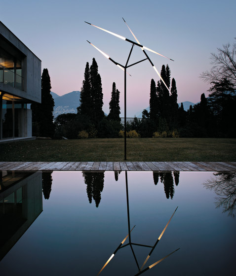 Javelot Macro by LUCEPLAN   Path lights