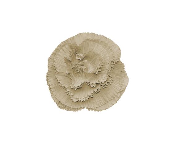 Rosa Plisse' perla by Poemo Design | Cushions