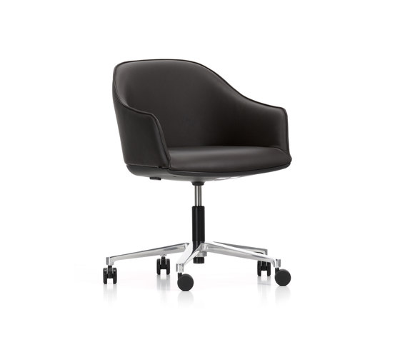 softshell chair by vitra product. Black Bedroom Furniture Sets. Home Design Ideas