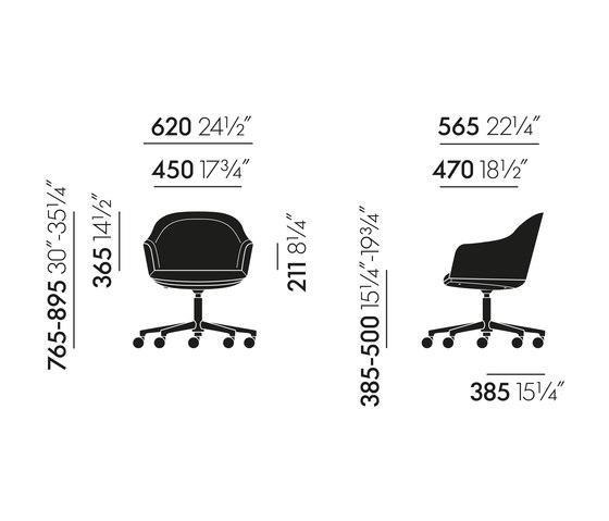 Softshell Chair von Vitra | Stühle