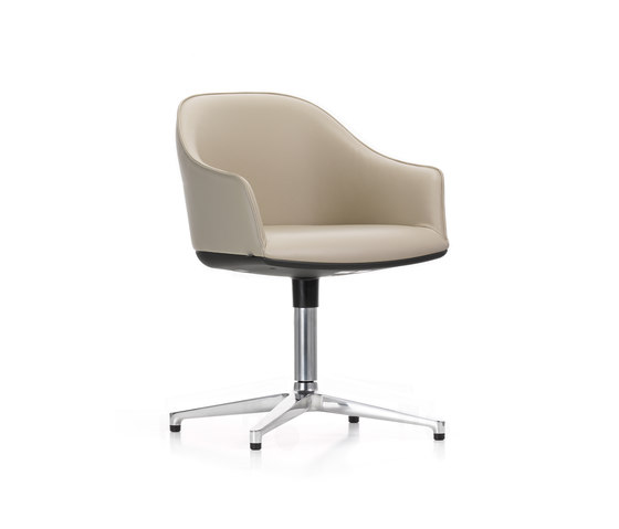 Softshell Chair de Vitra | Sillas de visita