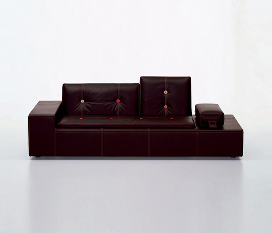 Polder Sofa XS Leather by Vitra | Sofas