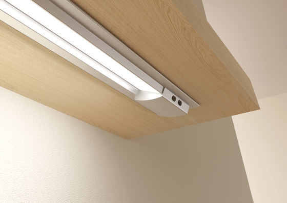 Profile fitted lamp by GERA | Recessed lights