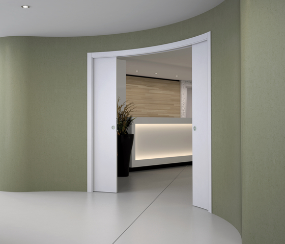 CIRCULAR DOUBLE by Eclisse | Internal doors