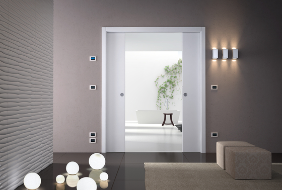 Luce Double by Eclisse | Internal doors
