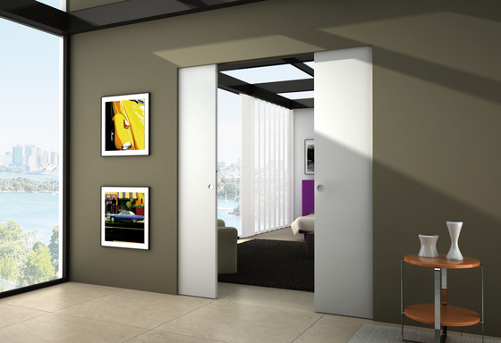 Syntesis® Line Double by Eclisse | Internal doors