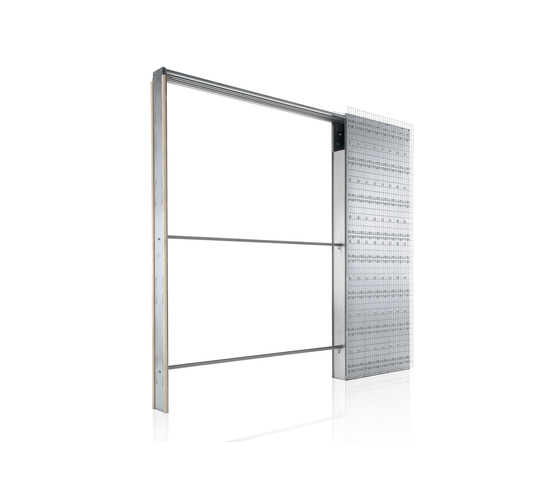 TELESCOPIC SINGLE by Eclisse | Internal doors