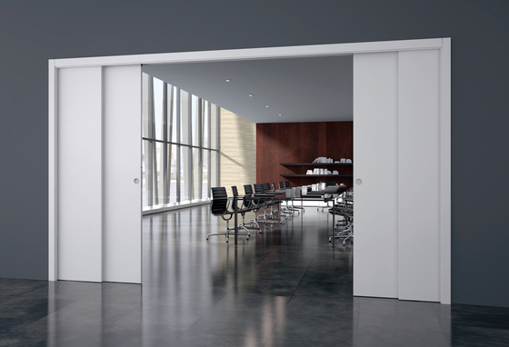 TELESCOPIC DOUBLE by Eclisse | Internal doors