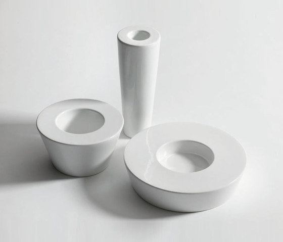 Atollo bowl and vase von bosa | Vasen