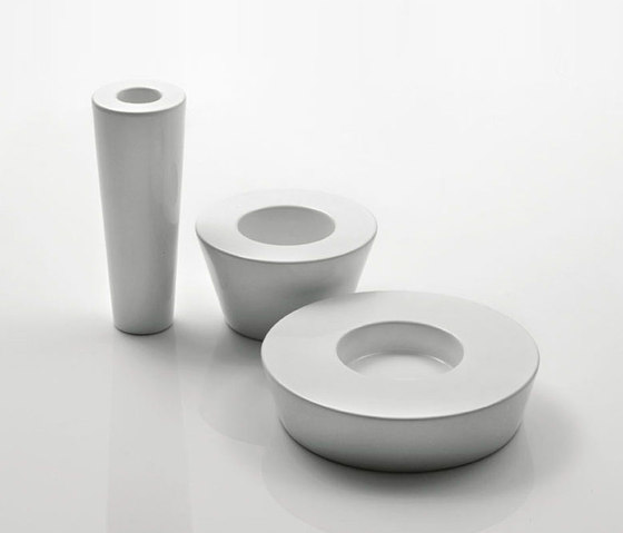 Atollo bowl and vase by bosa | Vases