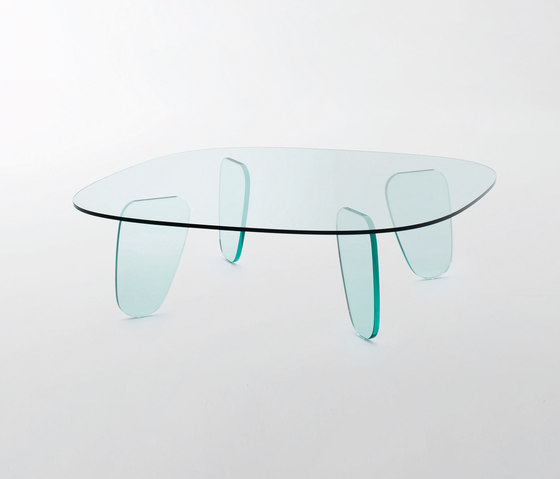 Drawn Table de Glas Italia | Mesas de centro