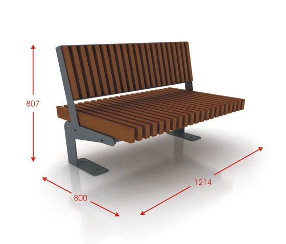 Boa by Cabanes | Exterior benches