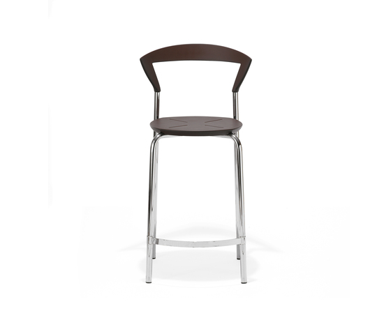 Opus bar chair small de Magnus Olesen | Taburetes de bar