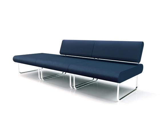 Linea Contract Sofa by Via Della Spiga | Lounge sofas