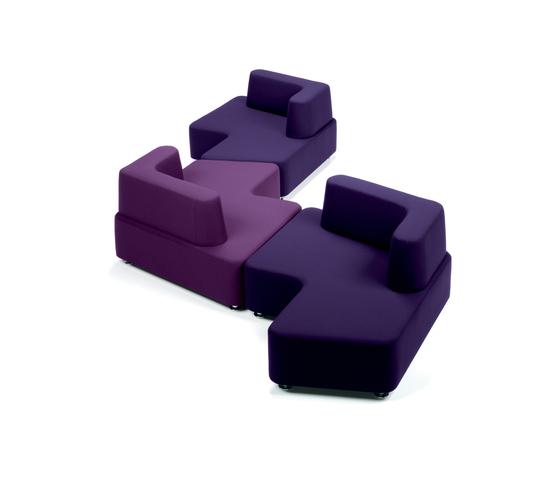 Puzzle Contract de Via Della Spiga | Sofás lounge